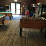 Game room in Community Center
