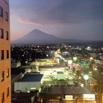 View of Mount Fuji from the hotel