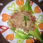 Tuna Salad excellent presentation