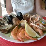 Entrée aux fruits de mer