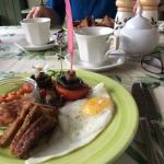Ditzy and delicious delights at breakfast