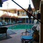 Pool Deck - view from Breakfast Nook