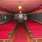 Inside Funeral Car