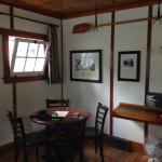 Fox cabin, one corner of the livingroom