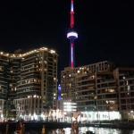 Toronto Boatel view at night