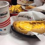 Cheesy Chicken Philly Cheesesteak - Very Cheesy Good!!!