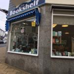 Bookshop and tearoom.