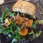 Fabulous Chicken Salad on Wheatberry Bread