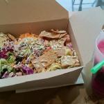 formule midi: salade + jus