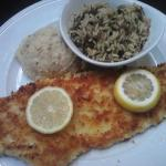 Parm. encrusted Whitefish