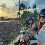 Great sunset on our Kauai Mopeds