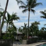 another view of pool area and the great Atlantic breeze always blowing.