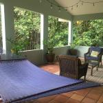 private veranda in the jungle suite