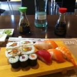 menu pranzo sushi e sashimi