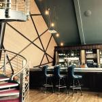 Stylish bar area