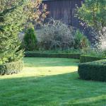 une vue de notre beau jardin