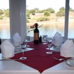 Our guests' favorite table by the water