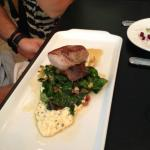 pork, grits and greens