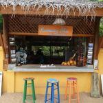 Hideaway Blue Breakfast Bar