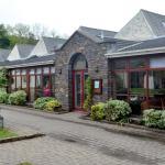Entrance to Neb Cafe Tynwald Mills