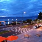 View from our room overlooking Lake Geneva
