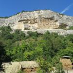 Скалы ущелья Святой Марии