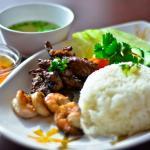 Charbroiled Pork Steam Rice