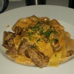 My dish, Vitello witch was great :)