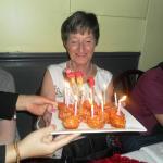Mum's birthday fritters.