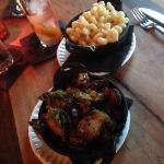 brussel sprouts & mac and cheese
