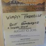 My favorite restaurant.  Please nominate Wimpy's Paradise for New Times Best of Phoenix awards f