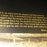 Mickey Mantle expresses his thoughts on Roger Maris