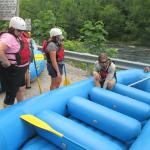 Great equipment & Sterling, a great river raft guide