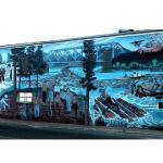 One of the Murals in Kenora