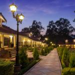 Forsyth Suites.. Lawn facing.. Evening View