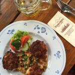 Essen & Trinken & Biergarten im Sommer