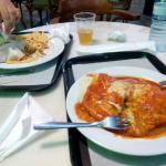 Cena en el Forum.