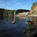la spiaggia del Postino a 7 minuti a piedi dall'albergo