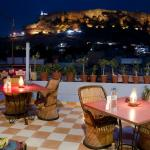 Roof Top Restaurnat with View of Mehrangarh Fort & Blue City View