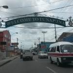 Llegando a Tunapuna