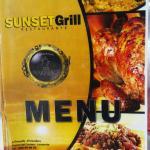 The Sunset Grill restaurant