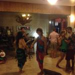 Dancing to Nico's music - Malapascua Legend