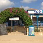 Searays Cafe Bar - the last watering hole before the Akamas