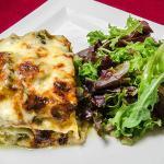 Lasagne aus courgettes et à la brousse