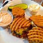 Pompton Queen Diner Waffle Fry Sliders