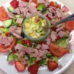Beautiful salads at Lily's
