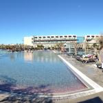 Pano of outdoor pool