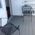 Private balcony, Sammy The Wonder Dog approves!