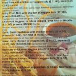 Lunch Menu Page 2