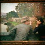 Les amoureux by Emile Friant 1888